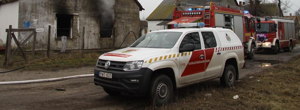 Katasztrófavédelmi Műveleti Szolgálat aloldal fejlécképe