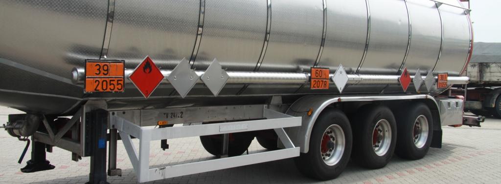 A veszélyes áruk szállításának szabályozása aloldal fejlécképe