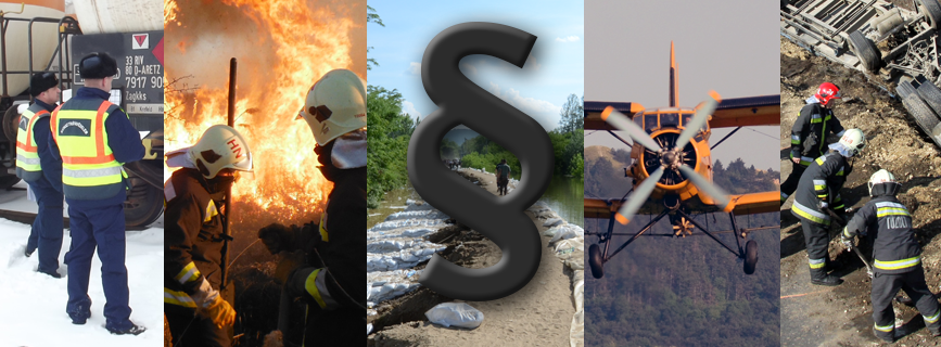 A tűzvédelemmel kapcsolatos alapvető jogszabályok aloldal fejlécképe