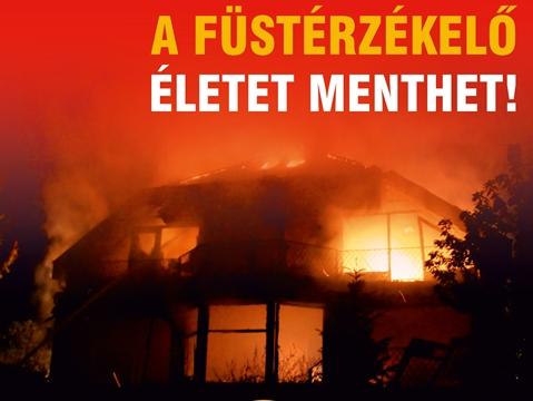 Lakástüzeknél az egyik legnagyobb veszélyt a keletkező füst belégzése jelenti, ezért ha a lakók időben észlelik a tüzet, nagyobb az esély a menekülésre.