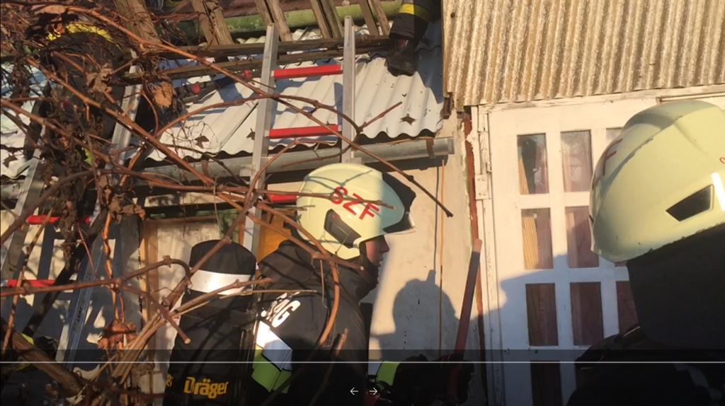 Családi ház égett Székesfehérváron